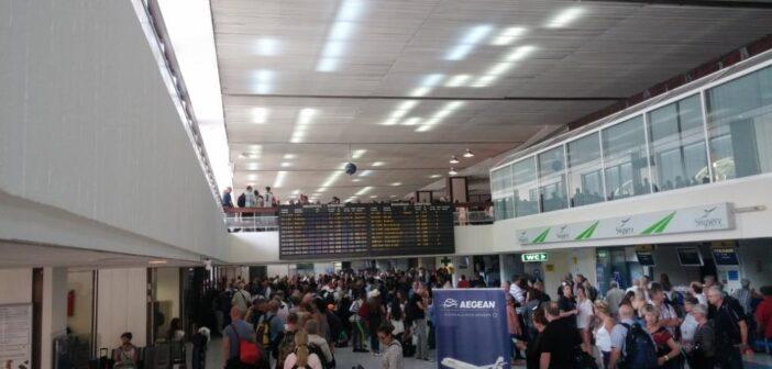Συνελήφθησαν δύο άτομα στο αεροδρόμιο Ρόδου για κλοπή φορητού υπολογιστή