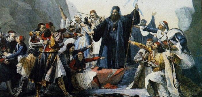 Αναπαράσταση της κήρυξης της Επανάστασης του 1821 – Χοροθεατρική εκδήλωση από τον Πολιτιστικό Σύλλογο Παστίδας «Καμάρι»