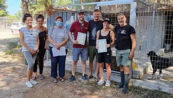 Το Δημοτικό Καταφύγιο Αδέσποτων Ζώων του Δήμου Ρόδου επισκέφθηκαν Γερμανοί κτηνίατροι