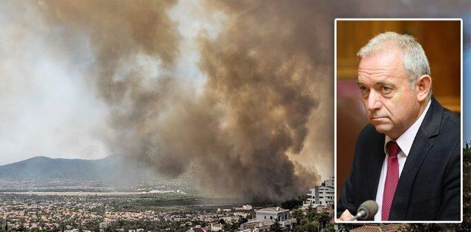 Φωτιές – Λέκκας : Γινόμαστε Αφρική, ερημοποιούμαστε