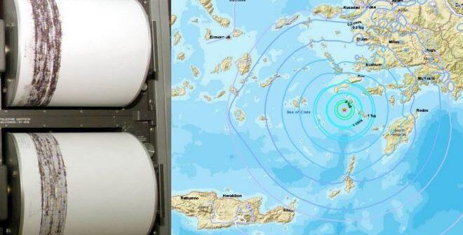 Νίσυρος – 4 Ρίχτερ ταρακούνησαν εκ νέου το νησί