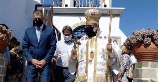 Τη Νίσυρο επισκέφτηκε ο ΥΦΕΘΑ Αλκιβιάδης Στεφανής