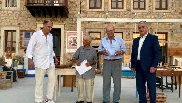 Με επιτυχία υλοποιήθηκε το σεμινάριο ξυλουργικής τέχνης στην Πάτμο