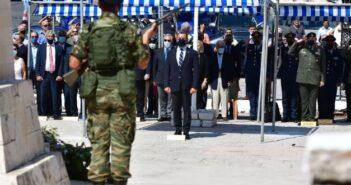 Παρουσία ΥΕΘΑ Νικόλαου Παναγιωτόπουλου στις εκδηλώσεις για την 78η επέτειο Απελευθερώσεως της Νήσου Μεγίστης