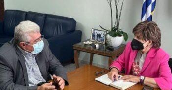 Θετικά συμπεράσματα από την επίσκεψη Ζαννετίδη στο Υπουργείο Αγροτικής Ανάπτυξης