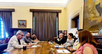 Σύσκεψη για την λειτουργία του ΧΥΤΑ βόρειας Ρόδου συγκάλεσε ο Περιφερειάρχης Γιώργος Χατζημάρκος