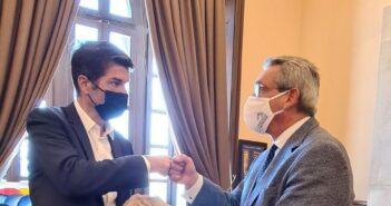 Περιβάλλον και Πολιτισμός στο επίκεντρο της συνάντησης του Περιφερειάρχη Γ. Χατζημάρκου, με τον Πρέσβη της Γαλλίας στην Ελλάδα Patrick Maisonave