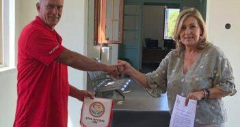 Ευχαριστήριο του Συλλόγου Εθελοντών Αιμοδοτών Ρόδου προς Περιφερειάρχη Νοτίου Αιγαίου και Αντιπεριφερειάρχη Υγείας