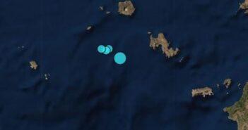 Σεισμός 4,2 Ρίχτερ ανοιχτά από Νίσυρο και Τήλο
