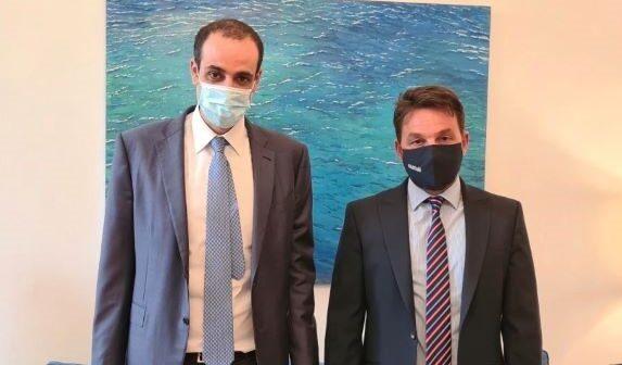 Συνάντηση του δημάρχου Χάλκης με τον ΓΓ του Πρωθυπουργού κ. Γρηγόρη Δημητριάδη