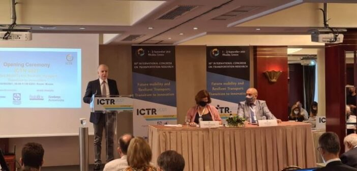 H ομιλία του Δημάρχου Ρόδου Αντώνη Καμπουράκη στο συνέδριο Κινητικότητας