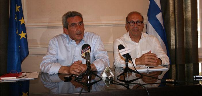 Υπεγράφη η σύμβαση με τον ανάδοχο για τα μεγαλύτερα αντιπλημμυρικά έργα που έγιναν ποτέ στη Σύρο
