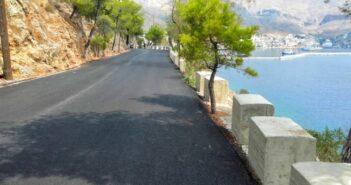 Τρία νέα οδικά έργα βελτίωσης ασφαλείας στο Επαρχιακό δίκτυο Καλύμνου από την Περιφέρεια Νοτίου Αιγαίου