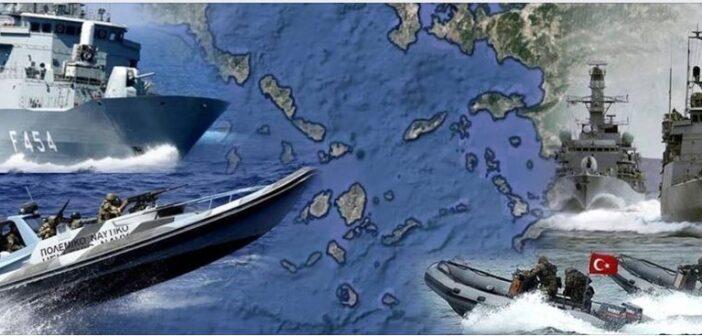 Η Τουρκία αμφισβητεί την κυριαρχία των ελληνικών νησιών