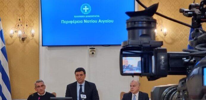 """Β. Κικίλιας « H Ρόδος, η Περιφέρεια Νοτίου Αιγαίου και όλη η Ελλάδα, θα μετατραπεί σε τουριστικό προορισμό 12 μηνών. Αυτές τις συνθήκες θέλουμε να δημιουργήσουμε, αυτή είναι η εντολή που μου έχει δώσει ο Πρωθυπουργός"""""""